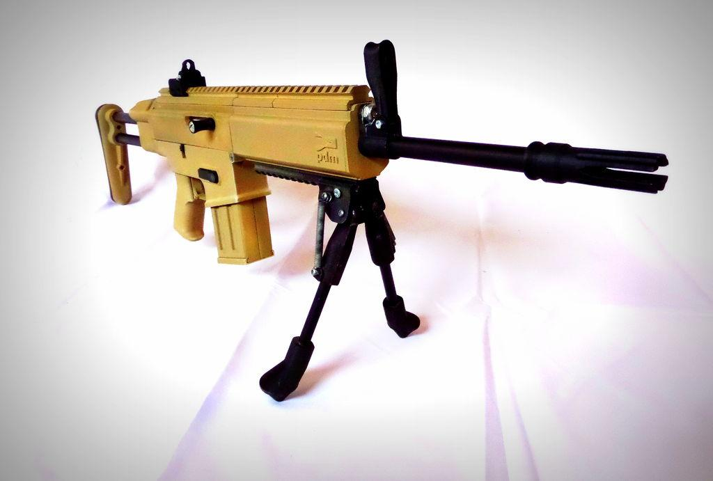 3d printed airsoft gun created by engineer 3dprint the voice 3d gunpost malvernweather Images