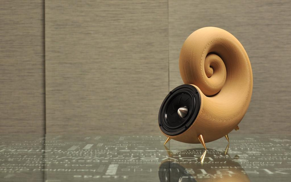 Akemake Creates The World S First 3d Printed Speaker From