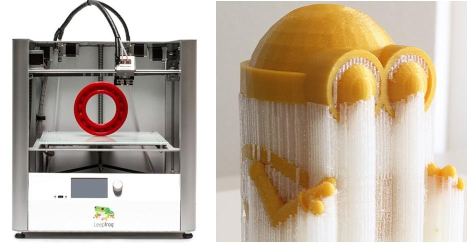Leapfrog Launches New Creatr HS 3D Printer - Bigger