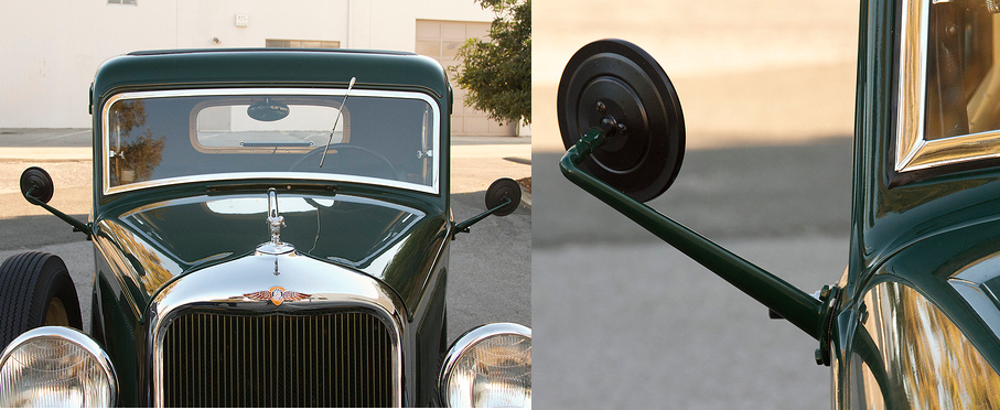 Vintage Car Enthusiast Replicates A Side View Mirror For