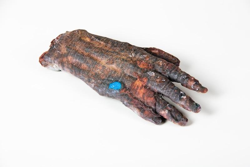 3D printed, full color hand, by Mcor Iris 3D printer