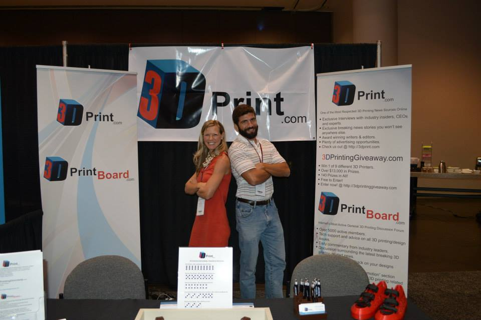 3DPrint.com all stars Whitney and Mike!