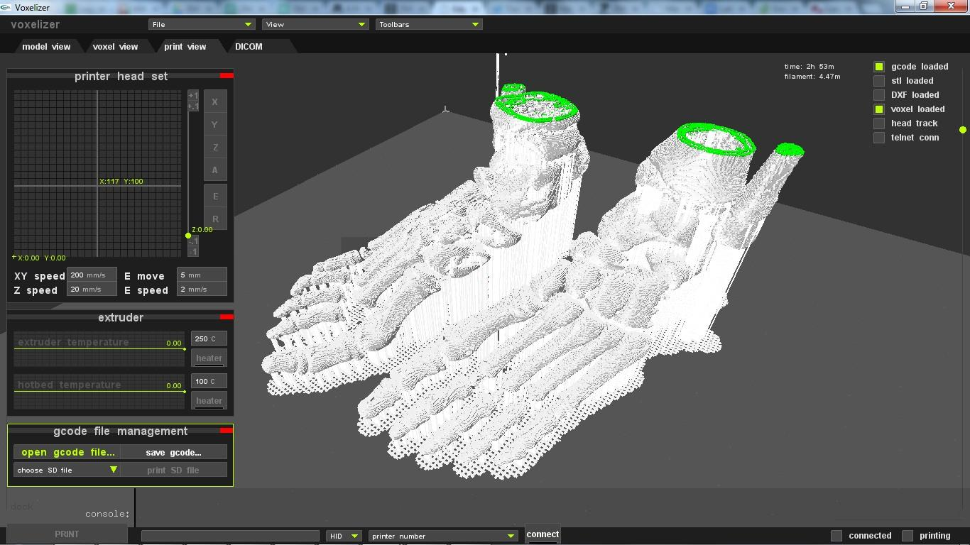 Voxelizer software update allows for modeling with 3d Making models for 3d printing