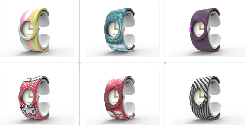 Tenvas Introduces World's First 3D Printed Interchangeable Fashion Watches, With Over 120 Designs