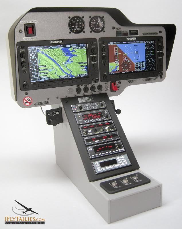 IFlyTailies Creates Intricate RC Airplane Cockpits & Parts Using 3D