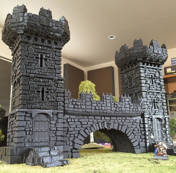 Printable Scenery Brings 3d Printing To Tabletop Gaming
