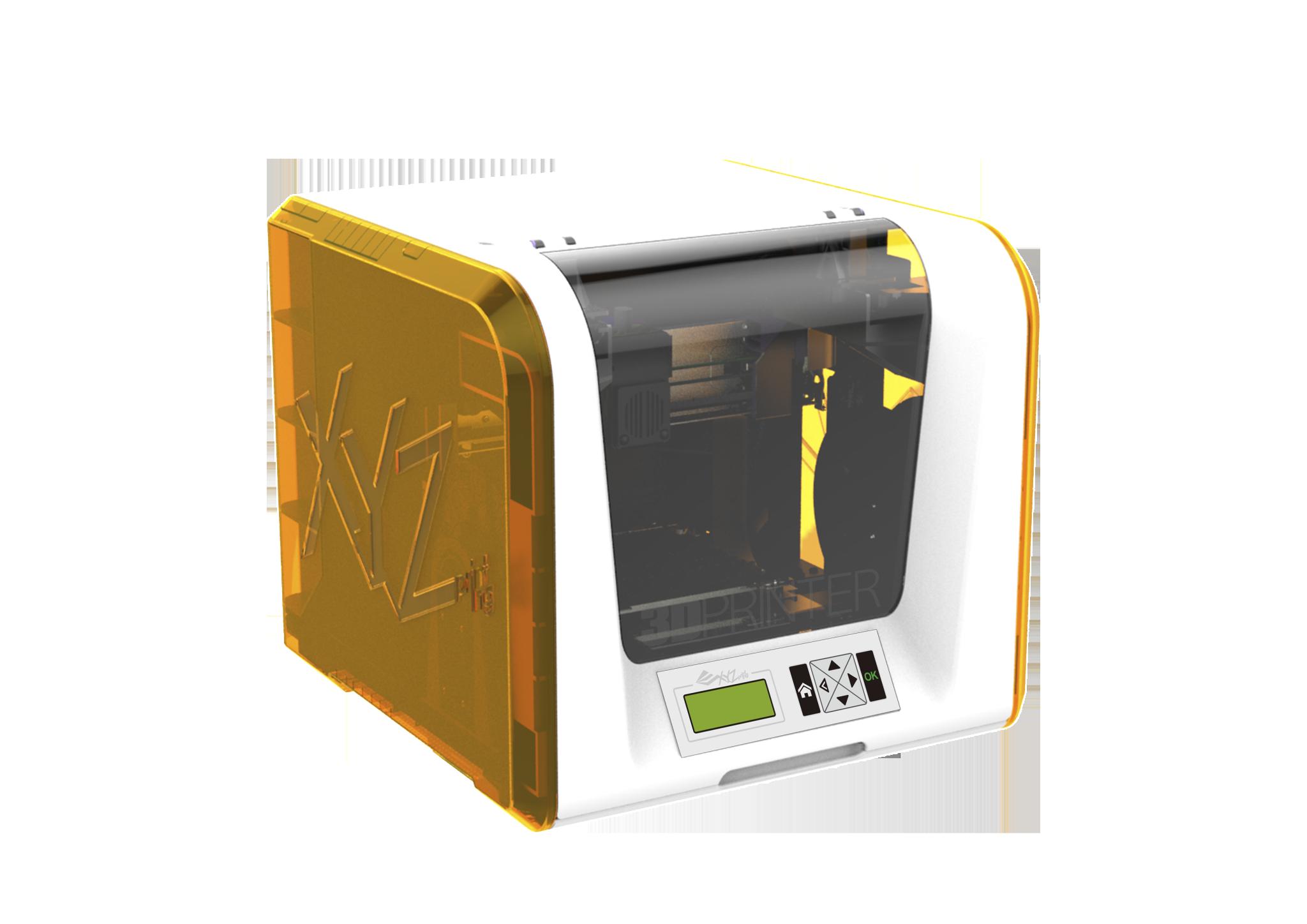 xyzprinting unveils 349 da vinci junior fff 1499 nobel 1 0 sla 3d printers at 2015 ces. Black Bedroom Furniture Sets. Home Design Ideas