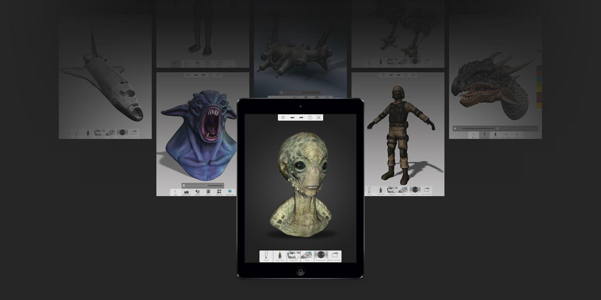 Autodesk 123d Sculpt Launches Free App Offers More