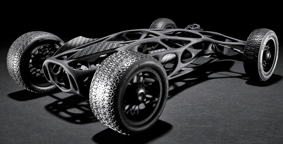 The Cirin — 3D Printed Rubber Band Powered Remote Control Car — Top Speed 30 MPH | 3DPrint.com ...