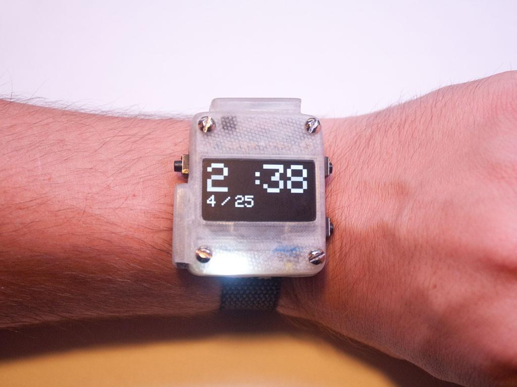 Build Your Own Open-Source 3D Printed SmartWatch - 3DPrint
