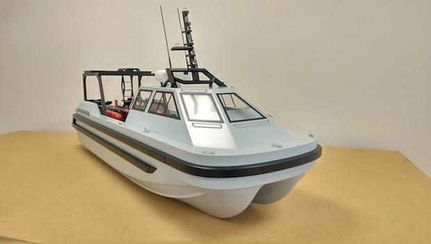 Remote controlled boat 1