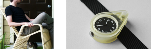 Bent Watches & Cats in Rocking Chairs — Paul Kweton's 3D Printed Designs