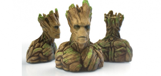 'Groot' bust sculpture available at MakerShop.co