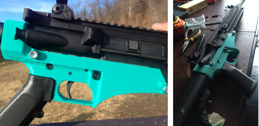 Powerful & Functional 3D Printed AR-10 Lower Receiver, Fires