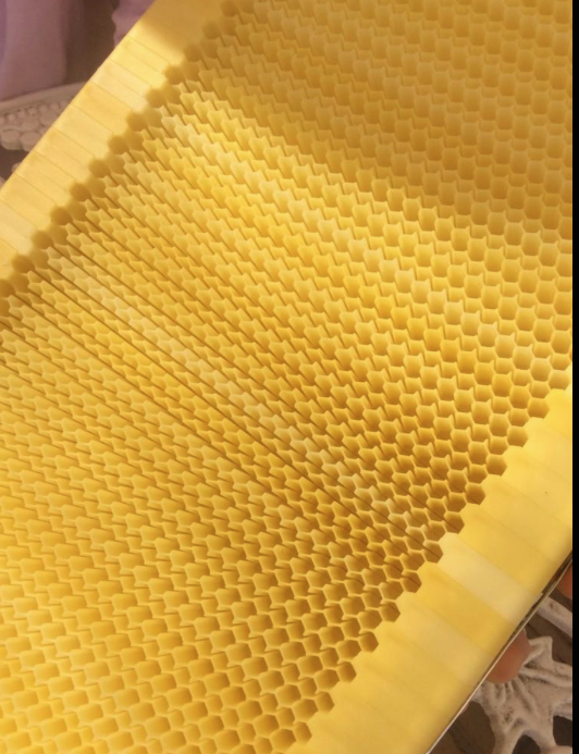 3d printed honeycombs allow beekeepers to get honey �on