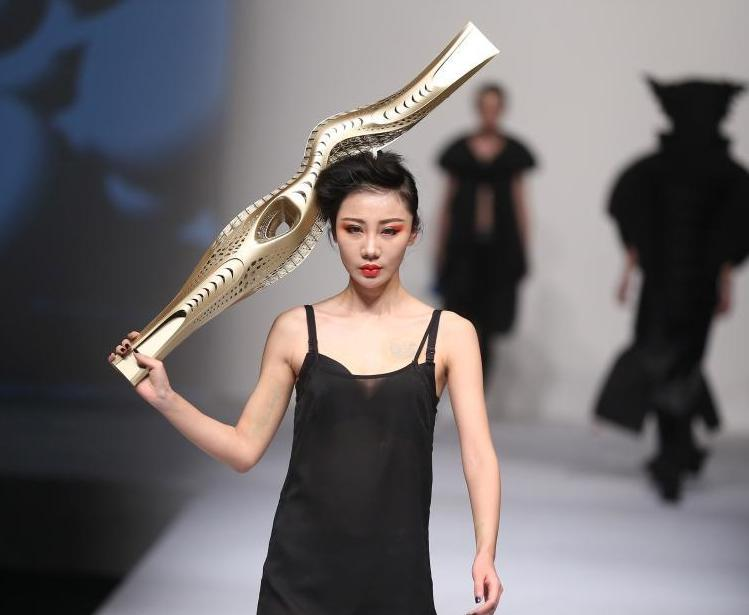 3D Printed Fashion from the Nanjing Arts Institute Fashion Show