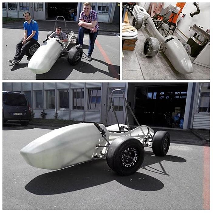 Polish Race Team 3D Prints Air Intake With NinjaFlex Gaskets for Formula Student 2015