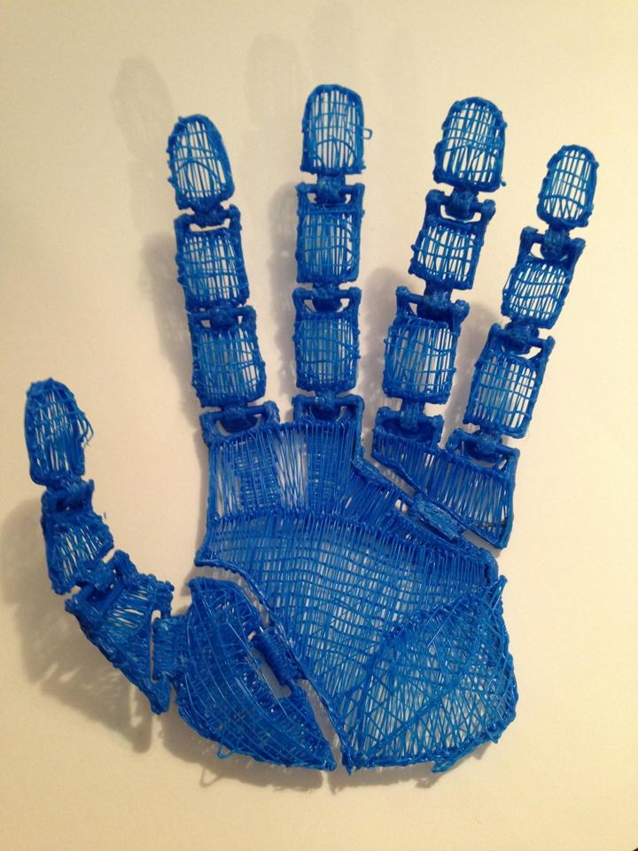 3d Printer Filament >> Creating Articulated Figures with the 3Doodled Joint | 3DPrint.com | The Voice of 3D Printing ...