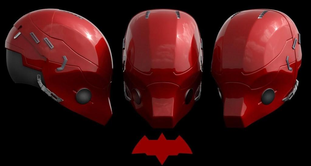 3D Model of the upcoming 'Red Hood' costume