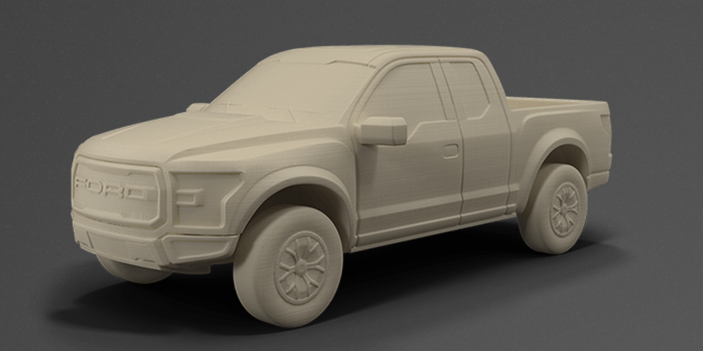Ford Launches Online 3D Printed Model Car Shop - Print Your Favorite