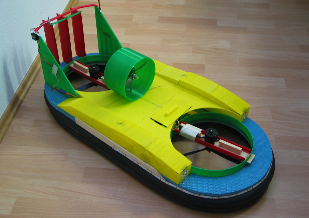 How To Build A Model Hovercraft