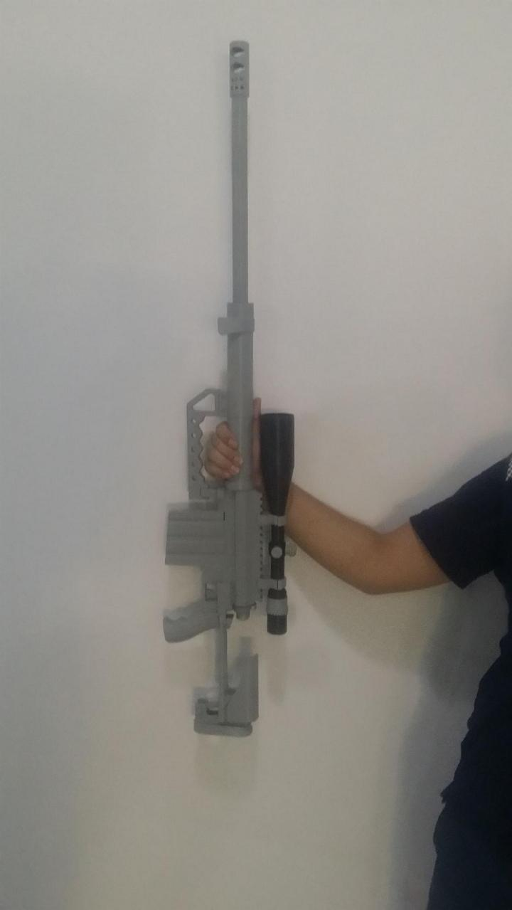 A 3D Printed M-200 Sniper Rifle Model Opens the Door to the