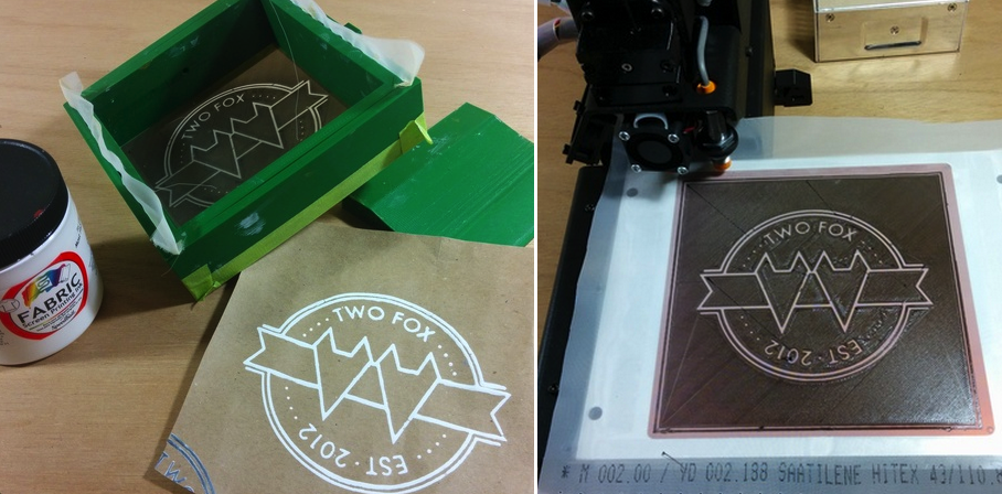 3D Print Your Own Kit for Screen Printing Designs onto