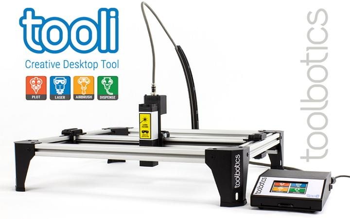 Tooli CNC device from Toolbotics.com