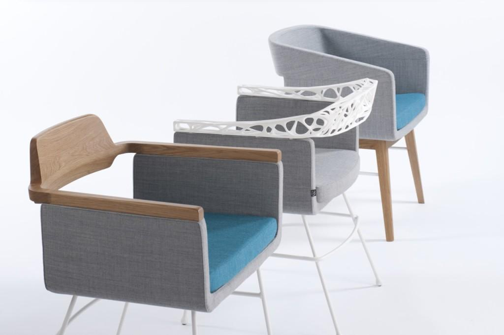 The rio chair brings 3d printing to the commercial for Furniture 3d printing