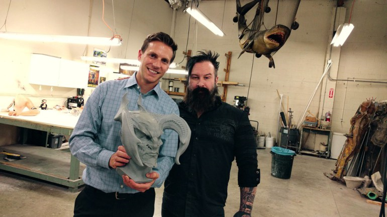 3D Printing Helps Hollywood Special Effects Artists, Alchemy Studios