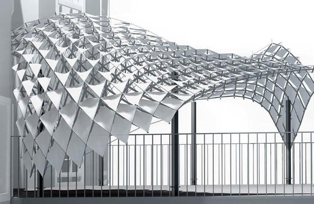 Airbus uses autodesk to create a space saving 3d printed Building design tool