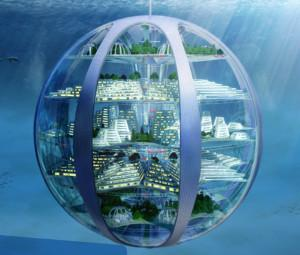 We could potentially be living in huge, underwater cities in 100 years.