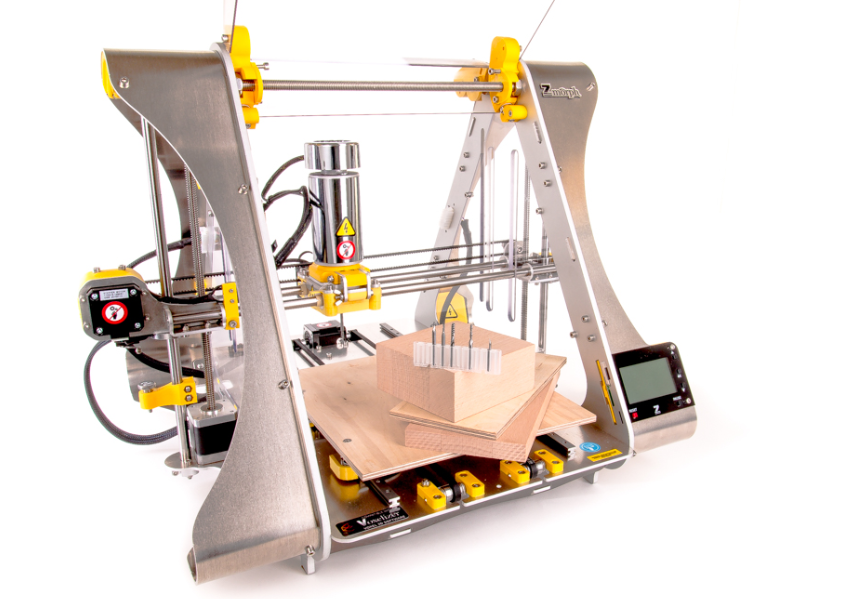 ZMorph CNC Milling Machine: Great for Cutting, Engraving