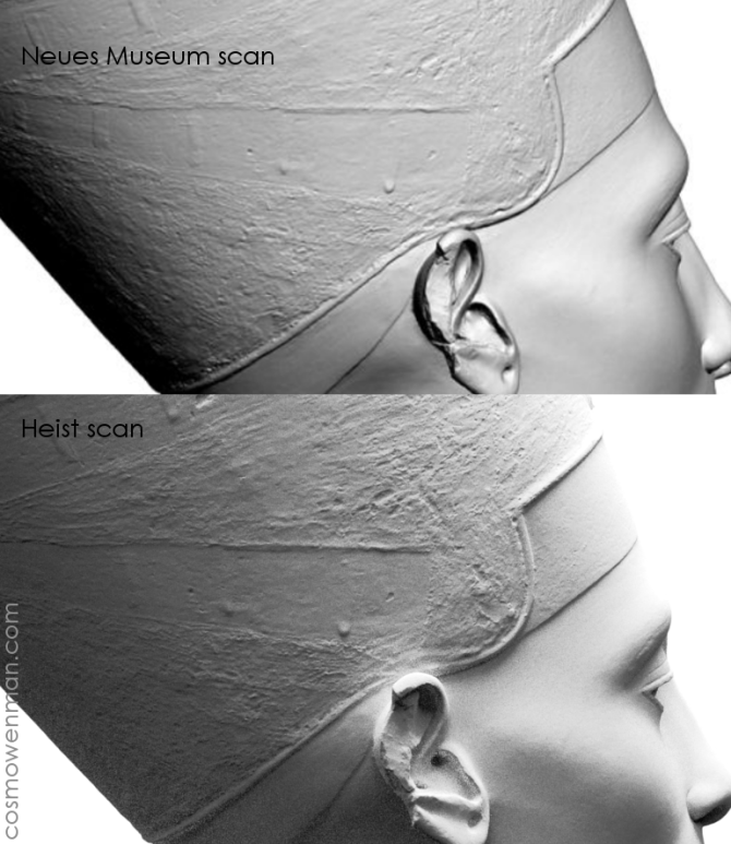 Sorry, That Story About Covertly 3D Scanning the Bust of