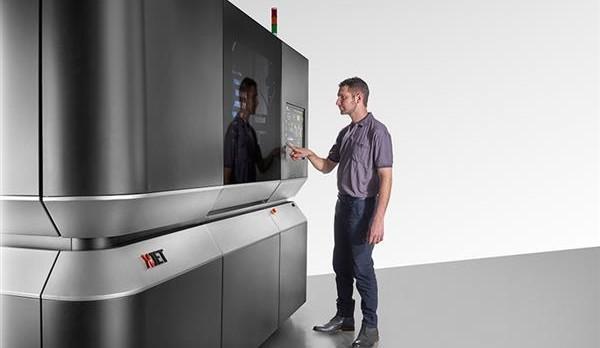 XJet metal 3D printer.