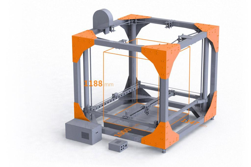 BigRep ONE Unveiled, Largest FDM 3D Printer Yet