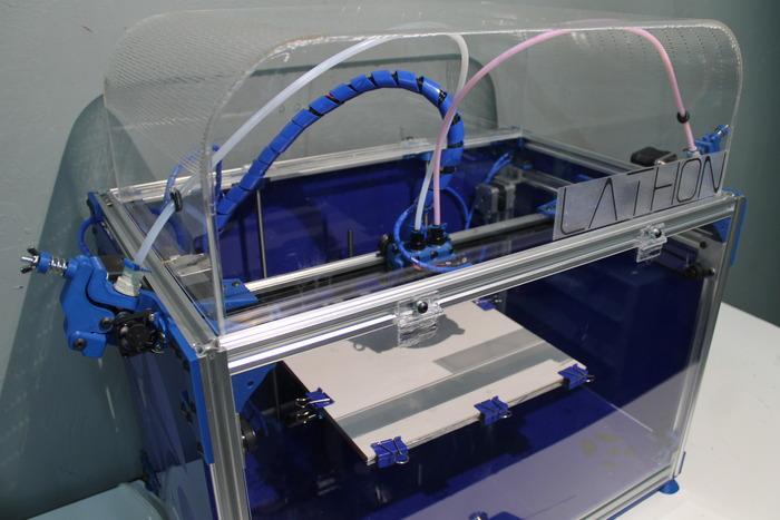 Lathon 3D Printer Launches on Kickstarter