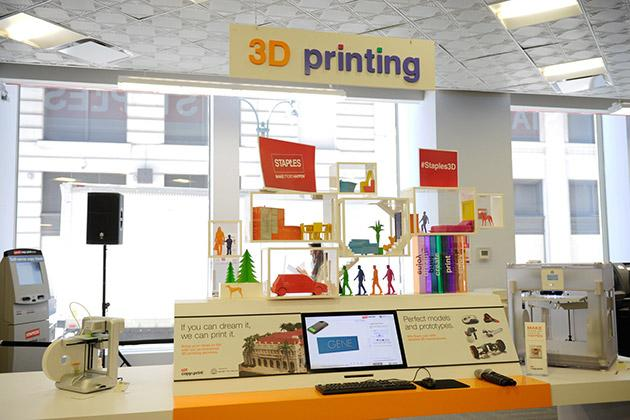 Staples Begins Offering 3D Printing Service In Stores