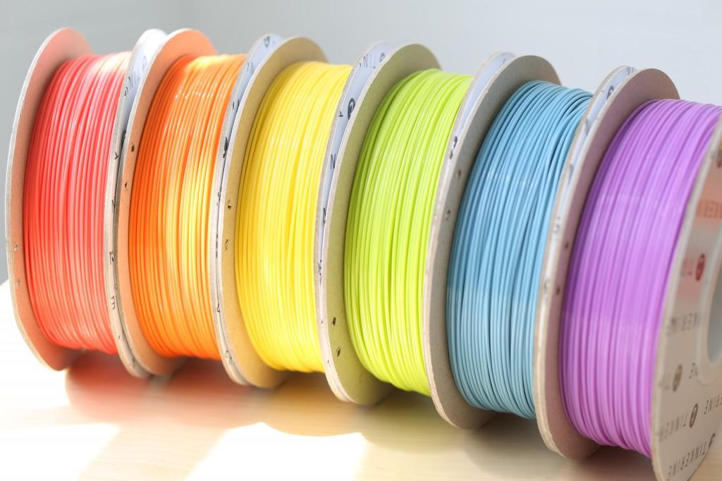 Tinkerine Spring Filament - Cherry Blossom, Sunset, Sunrise, Spring Shoots, Clear Sky, Lavender