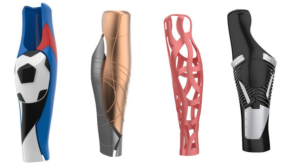 UNYQ Raises $1 Million and Begins Taking Pre-orders for Below Knee 3D Printed Prosthetic Covers