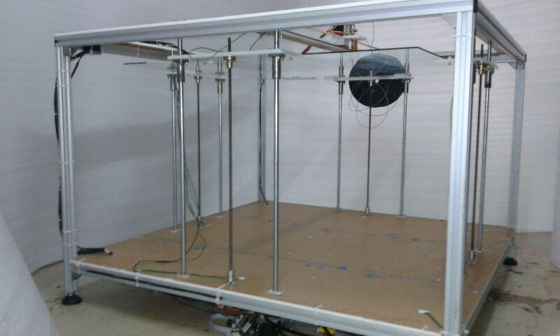 XLBot Now Available: Features HUGE 3ft x 3ft x 1'8″ Build ...