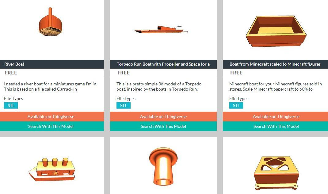 3DShapes Aims to be the Google of 3D Printable Models via Comprehensive Image Search