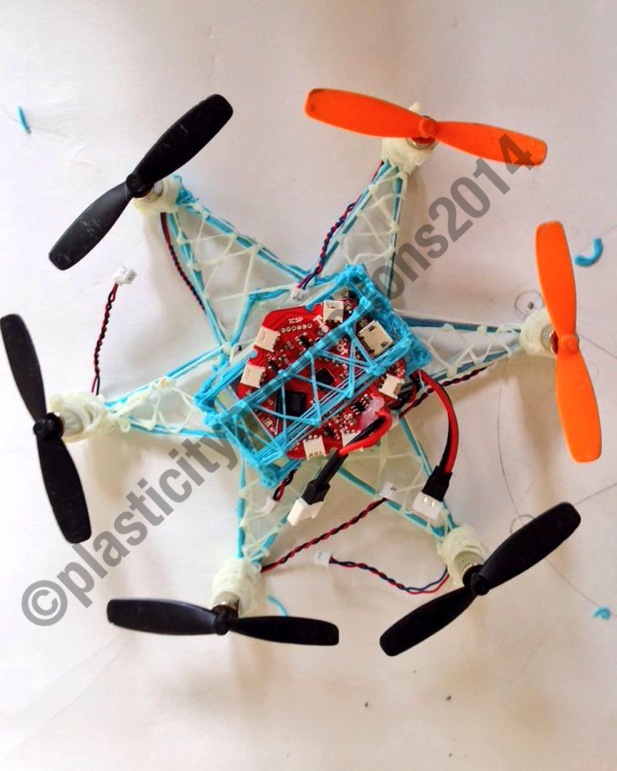 Man Creates Flying Hexacopter Drone With 3Doodler 3D