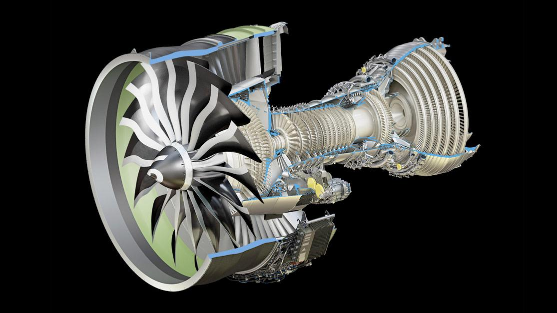 ge aerospace 3d printing ge9x engine turbine arcam 777x jet blades printed engines metal blade boeing manufacturing additive titanium laser