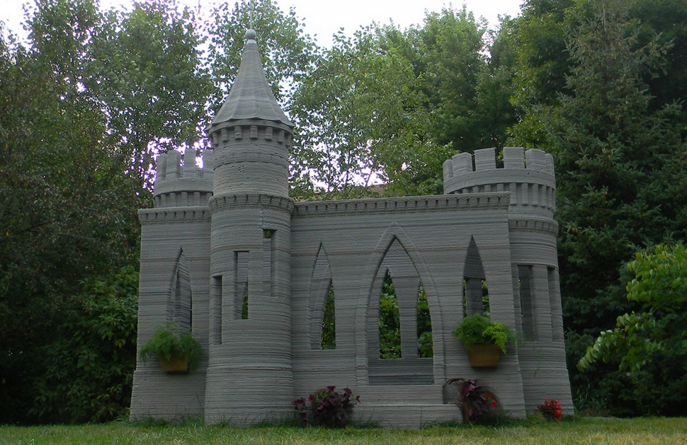 World's First 3D Printed Castle is Complete - Andrey Rudenko Now to Print a Full-size House