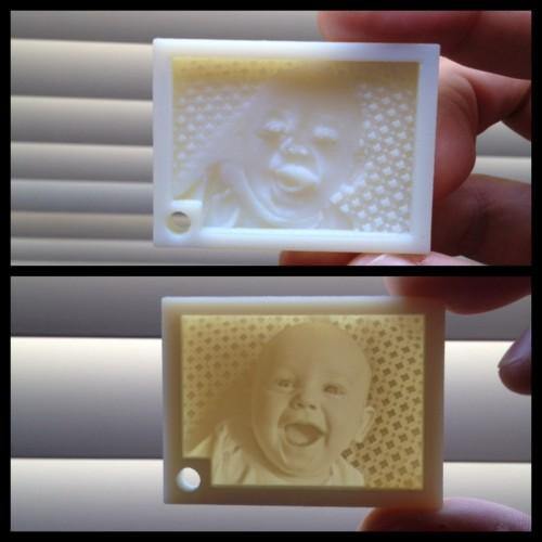 Amazing 3D Printed Lithophane Key Chains Created By 'Print