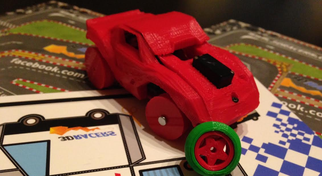 3DRacers Brings the Racetrack to Your Living Room Floor With 3D Printed Cars and Game