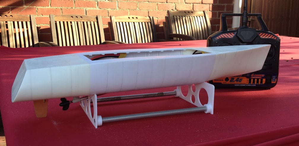 Australian Man Designs & 3D Prints a Working RC Boat on His DIY 3D Printer