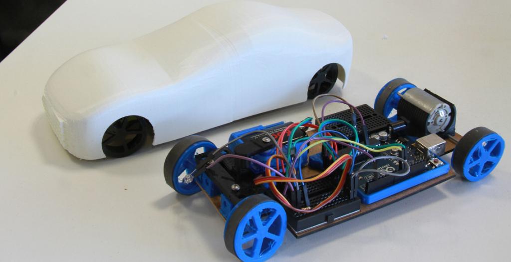 Arduino car carduino d printed rc that can be