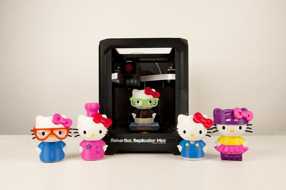 Hello Kitty!  MakerBot and Sanrio Team to Bring the Japanese Kitty to Life via 3D Printing